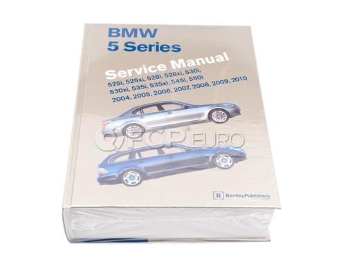 BMW Repair Manual (5 Series) - Bentley B510