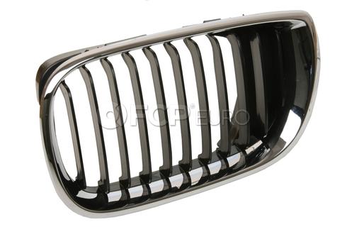 BMW Kidney Grille Left - Genuine BMW 51137030545