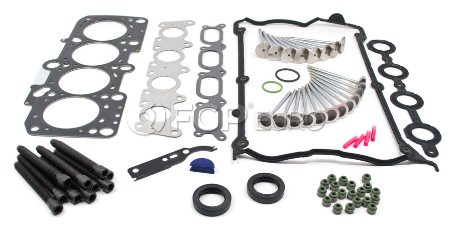 Audi VW Cylinder Head Gasket Set with Valves 1.8L