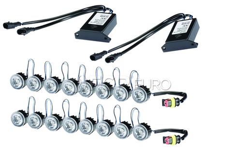 Hella LEDay Flex Daytime Running Lights Kit - 8 LED Light Kit - 010458871