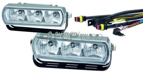 Hella 3 LED Daytime Running Light Kit - 009496801