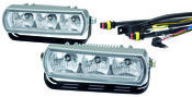 Hella 3 LED Daytime Running Light Kit - 009496801