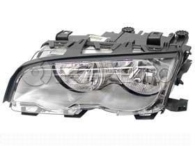 BMW Halogen Headlight Assembly Left (330Ci) - Genuine BMW 63126908227