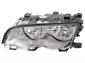 BMW Halogen Headlight Assembly Left (330Ci) - Genuine BMW 63126908227