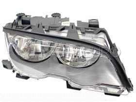BMW Halogen Headlight Assembly Right (330Ci) - Genuine BMW 63126908228