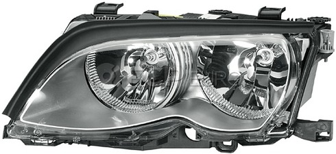 BMW Halogen Headlight Left - Hella 63127165785