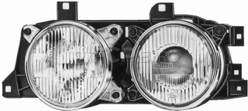 BMW Headlight Assembly Right - Genuine BMW 63121379186
