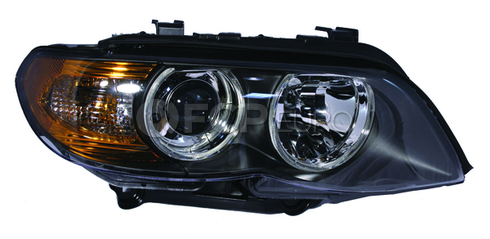 BMW Halogen Headlight Assembly Right (X5 E53) - Genuine BMW 63127164444
