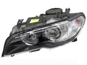 BMW Headlight Assembly w/o Adaptive Left (325Ci 330Ci) - Hella 63127165907