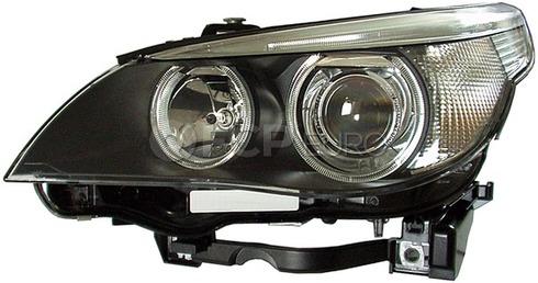 BMW Bi-Xenon Headlight Assembly Right (E60 E61) - Hella 63127166118