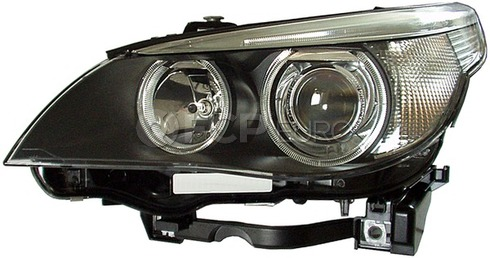 BMW Bi-Xenon Headlight Assembly Right (E60 E61) - Hella 63127166118