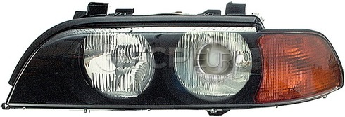 BMW Headlight Assembly Xenon Left (528i 540i E39) - Genuine BMW 63128386559