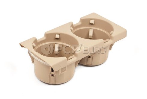 BMW Cup Holder Beige (E46) - Genuine BMW 51168217955
