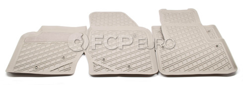 Volvo Rubber Floor Mat Set Oak (XC90) - Genuine Volvo 31307316