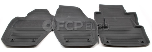 Volvo Rubber Floor Mat Set Off Black (XC60) - Genuine Volvo 39822905