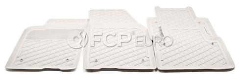 Volvo Rubber Floor Mat Set Quartz (S40 V50) - Genuine Volvo 39807168