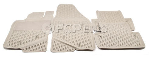 Volvo Rubber Floor Mat Set Oak (C70 S70 V70 850) - Genuine Volvo 9422217