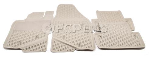 Volvo Rubber Floor Mat Set Oak (C70 S70 V70 850) - Genuine Volvo 9422217