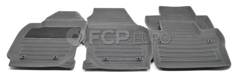 Volvo Rubber Floor Mat Set Off Black (S80) - Genuine Volvo 39807564