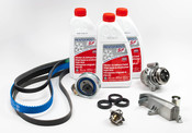 Audi Timing Belt Kit with Coolant - AWMTBKIT2G12RB