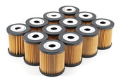Volvo Engine Oil Filter Case of 12 (S40 S60 S70 S80 V70 XC70 XC90) - Bosch 1275811