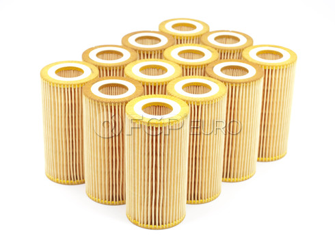 Volvo Oil Filter Case of 12 (C70 S40 V50 C30) - Bosch 72256WSX12