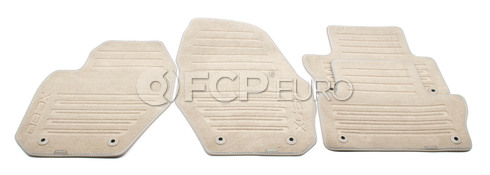 Volvo Rubber Floor Mat Set Mocca Brown (XC60) - Genuine Volvo 39800587