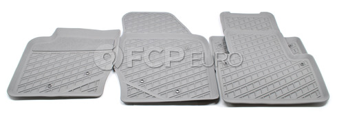Volvo Rubber Floor Mat Set Umbra (XC90) - Genuine Volvo 31307315