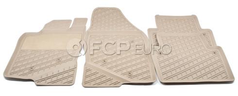 Volvo Rubber Floor Mat Set Beige (S80) - Genuine Volvo 39998304