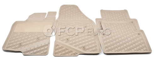 Volvo Rubber Floor Mat Set Beige (S80) - Genuine Volvo 39998304