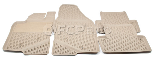 Volvo Rubber Floor Mat Set Beige (S60) - Genuine Volvo 39891781