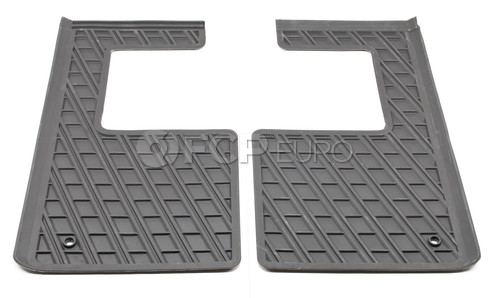 Volvo 3rd Row Floor Mat Set Grey (XC90) - Genuine Volvo 39972683