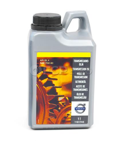 Volvo Manual Trans Oil SAE 75W (1 Liter) - Genuine Volvo 1161745