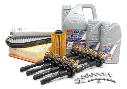 BMW Tune-Up Kit with Oil (740i 740iL) - E38TUNEKIT2