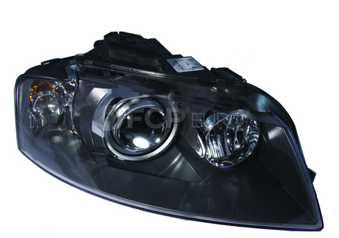 Audi headlight Assembly HID Right (A3) - Hella 8P0941030AD