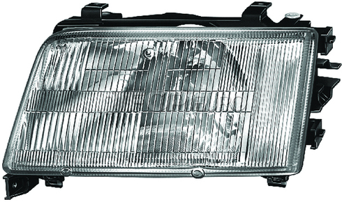 Audi Headlight Assembly Right (100 100 Quattro) - Hella 4A0941030E