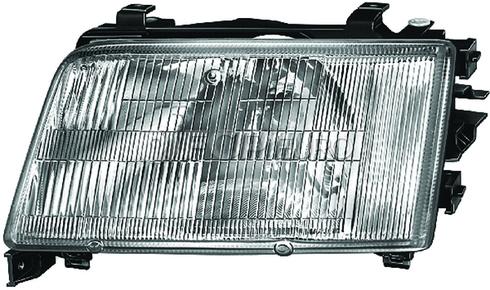 Audi Headlight Assembly Right (100 100 Quattro) - Hella 4A0941030E