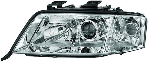 Audi Headlight Assembly - Hella 4B0941004BF