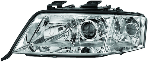 Audi Headlight Assembly Left (A6 Quattro) - Hella 4B3941003S