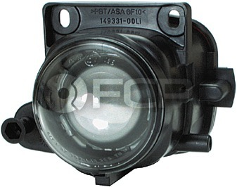 Audi Fog Light Assembly Left (A6 A6 Quattro) - Hella 4B0941699