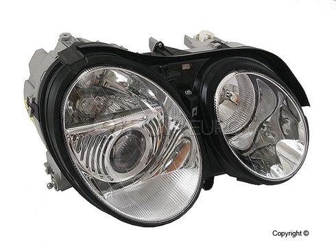Mercedes Headlight Assembly Right (CL500 CL600 CL55 CL65) - Hella 2158202261