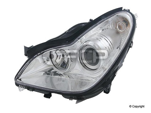 Mercedes Headlight Assembly Right - Hella 2198200861