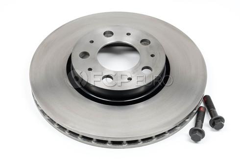 """Volvo Brake Disc Front 11.25"""" (S60 V70 XC70 S80) - Genuine Volvo 31471830"""