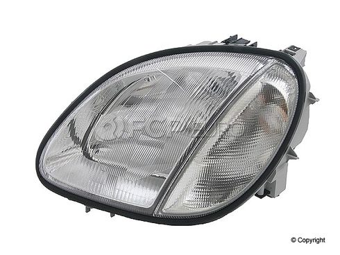 Mercedes Headlight Assembly Left - Hella 1708202761