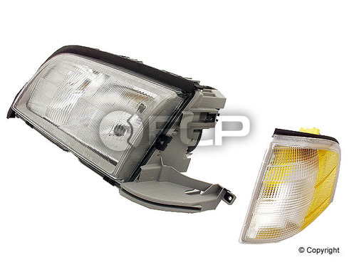 Mercedes Headlight Assembly Left (C230 C280 C36 C43) - Hella 2028202761