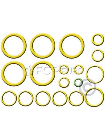 Volvo A/C System O-Ring and Gasket Kit (XC70 XC90) - Santech MT2671