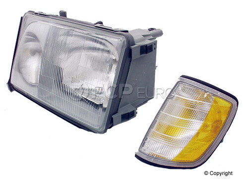 Mercedes Headlight Assembly Left (E300 E320 E420) - Magneti Marelli 1248208959