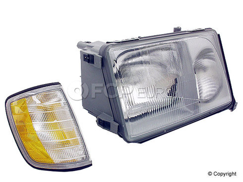 Mercedes Headlight Assembly Right (E300 E320 E420) - Hella 1248209059