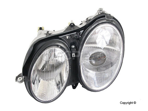 Mercedes Headlight Assembly Left - Hella 2158200561