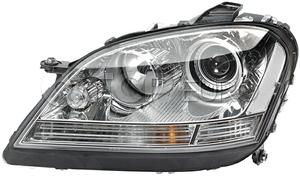 Mercedes Headlight Assembly Right (ML320 ML350 ML550 ML63) - Hella 1648202261